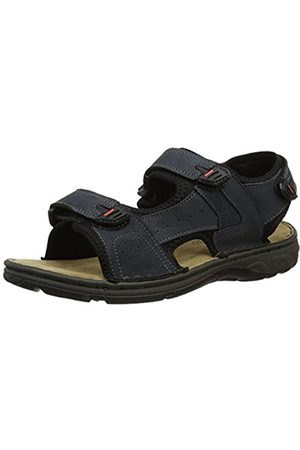 Padders Men's Ocean Sling Back Sandals, (Navy 25)