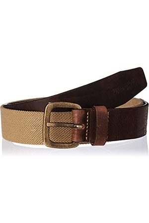Wrangler Men's Canvas Stretch Pebble Sand Belt