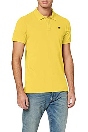 Scotch&Soda Men's Classic Garment-Dyed Cotton Pique Polo Shirt