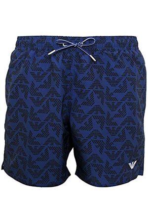 Portfolio Men's Boxer Beachwear Allover Eagle Swim Trunks