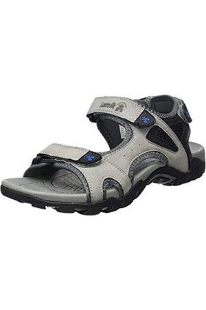 Kamik Men's Milos Ankle Strap Sandals, (Lt LGY)