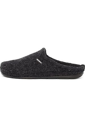 Giesswein Men's Jabel Open Back Slippers, (Anthracite)