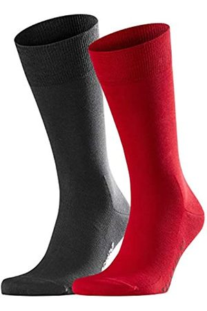 Falke Men Cool 24/7 2-Pack Socks - 80% Cotton, UK 10-11 (Manufacturer size: 45-46)