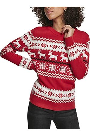 Urban classics Women's Pullover Ladies Norwegian Christmas Ugly Sweater Sweatshirt