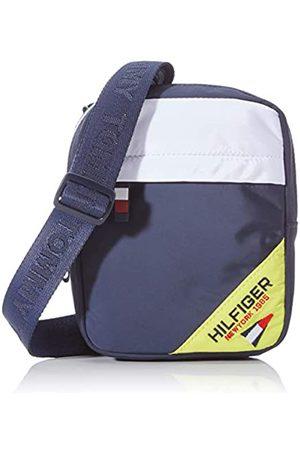 Tommy Hilfiger Kids Square Reporter Sailing, Unisex Kids' Backpack, (Corporate/Fluro)