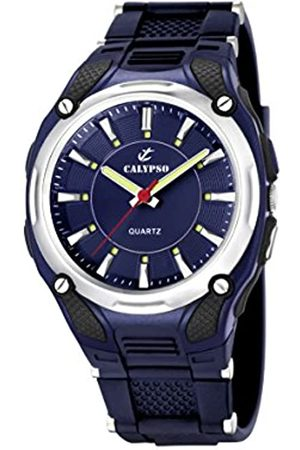 Calypso Men's Quartz Watch with Dial Analogue Display and Plastic Strap K5560/3