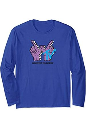 Neff Whatever Television Hand Signs Long Sleeve T-Shirt