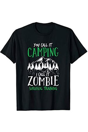 BUBL TEES I Call It Zombie Survival Training Halloween Trick Or Treat T-Shirt