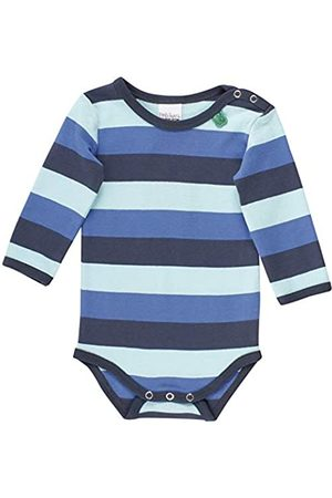 Green Cotton Baby Boys' Multi Stripe Body Shaping Bodysuit
