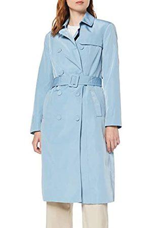 Koton Women's Trenchcoat Mit Bezogegnen Knöpfen Trench Coat