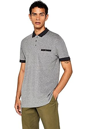 FIND Amazon Brand - Men's Contrast Collar Polo Shirt, S