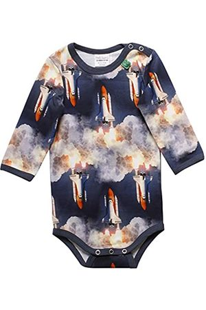Green Cotton Baby Boys' Space Photo Body Shaping Bodysuit