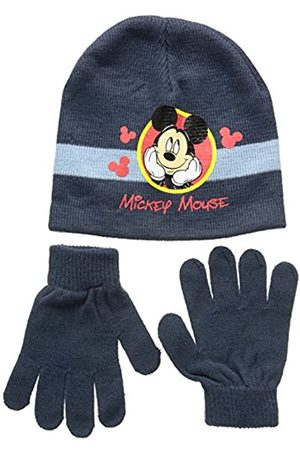 Disney Unisex Child Conjunto 2 Pcs Gorro + Guantes Mickey Set 2 Pcs Hat + Gloves, (118)
