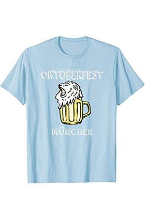 BUBL TEES Oktoberfest Munchen Munich Beer Drinking Party Fest T-Shirt