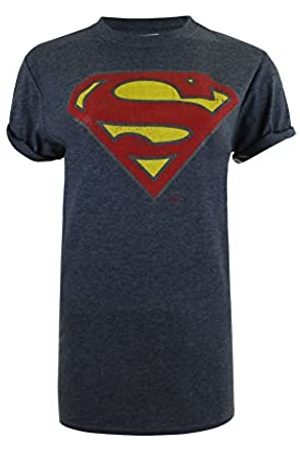 DC Women's Superman Distressed T-Shirt