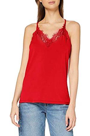 Vero Moda Women's Vmmilla S/l Lace Top Color Vest