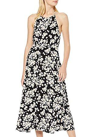 New Look Women's F Del Daisy Halter Btn Front M (6208944) Dress