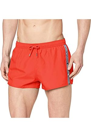 Portfolio Men's Shorts Beachwear Bold Logo Tape Swim Trunks