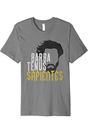 Classical Latin Phrases T-Shirts Barba Tenus Sapientes Classical Latin Shirt