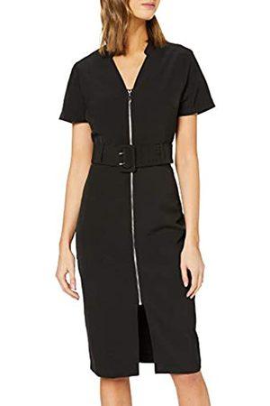 Dorothy Perkins Women's Zip Belted Shirt Party Dress