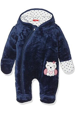Salt & Pepper Salt and Pepper Baby Girls' NB Jumpsuit Happy Plüsch Footies