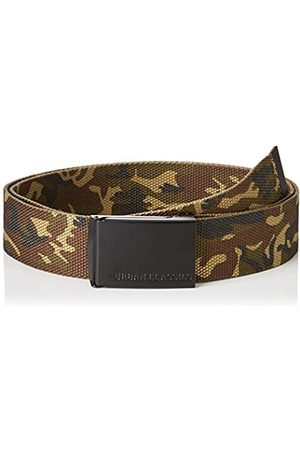 Urban classics Unisex_adult Gürtel Canvas Belt, Woodcamo/blk