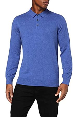 MERAKI Amazon Brand - Men's Polo Shirt, Long Sleeve, 3XL
