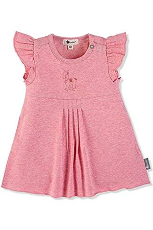 Sterntaler Girls Tunic Dress, Lottie the Llama Motif, Age: 3-4 Months, Size: 0-3m