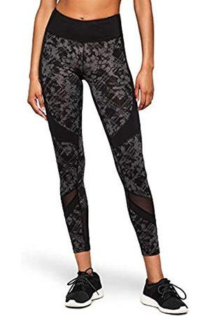 AURIQUE Amazon Brand - Women's Panelled Sports Leggings, 12