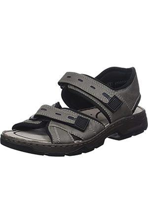 Rieker Men's 26175 Closed Toe Sandals, (Shark/Navy/Schwarz 40)