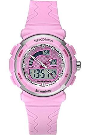 Sekonda Womens Digital Quartz Watch with Plastic Strap 2422.27