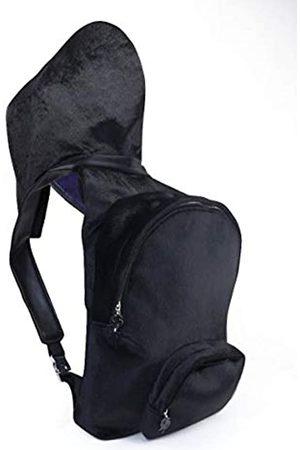 Morikukko Unisex-Adult Hooded Bacpack Faux Fur Backpack (Faux Fur )