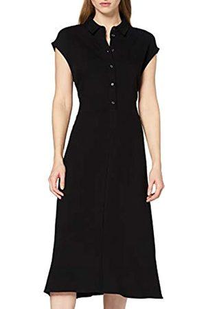 FIND Amazon Brand - Women's Midi Floral Shirt Dress, 6
