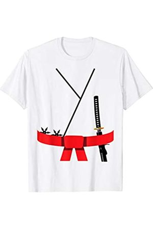 Funny Halloween Designs by FunJDesign Cute Design Red Belt Karate Custome Halloween T-Shirt