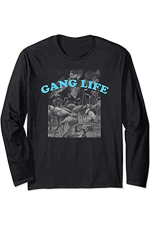 Neff Flamingo Gang Life Long Sleeve T-Shirt