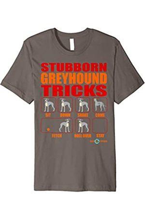 ToonTyphoon Greyhound funny shirt | Stubborn Greyhound Tricks