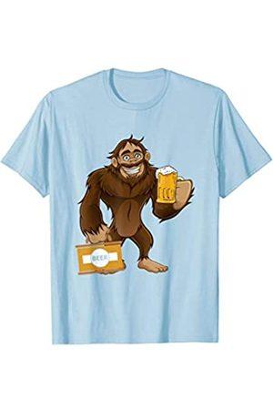 BUBL TEES Sasquatch Bigfoot Beer Feast Oktoberfest Party T-Shirt