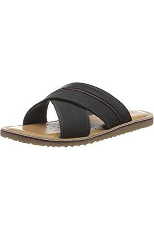 Geox Men's U Artie B Flip Flops, (Navy C4002)