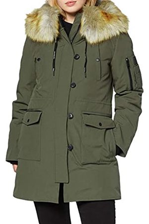 Calvin Klein Women's Olivia Mw Down Hoode Coat