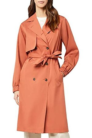 FIND Amazon Brand - Women's Trench Belted Coat, 18