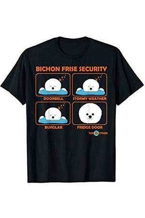 ToonTyphoon Smile Raising Bichon Frise Security T-Shirt