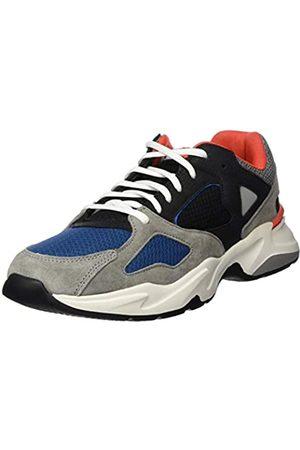 Dockers Men's 45sp003 Low-Top Sneakers, (Schwarz/Grau 120)