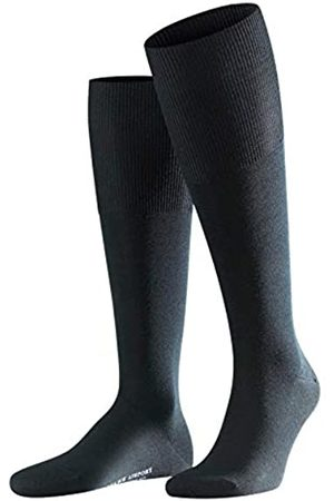 Falke Men Airport Knee-Highs - Merino Wool/Cotton Blend ( 3000), Size: UK 7-8 (EU 41-42 Ι US 8-9)