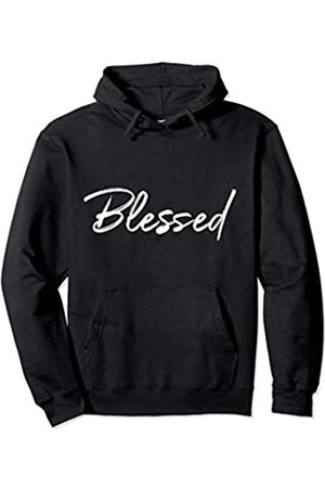 P37 Design Studio Jesus Shirts Christian Blessings Quote for Women Cute Blessed Pullover Hoodie