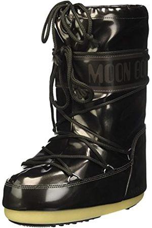 Moon-boot Unisex Kids Vinil Met Snow Boots, (Nero 001)