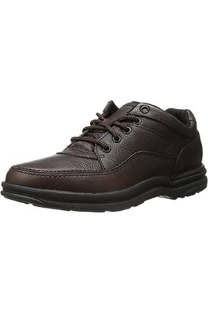 Rockport Men's World Tour Classic Oxfords, (Chocolate)