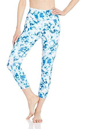 CORE Spectrum High Waist 7/8 Crop Legging-24 Yoga Pants, /Navy Tie Dye