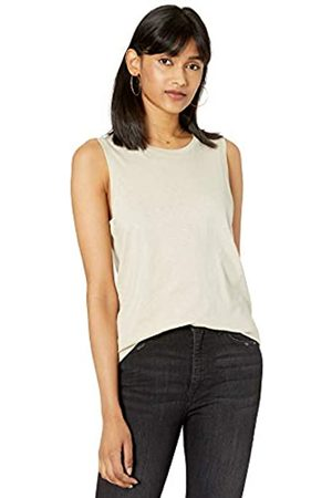 The Drop Women's Nicole Crew Neck Muscle Tank Top