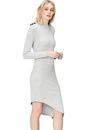 FIND Amazon Brand - Women's Asymmetric Dress, 14