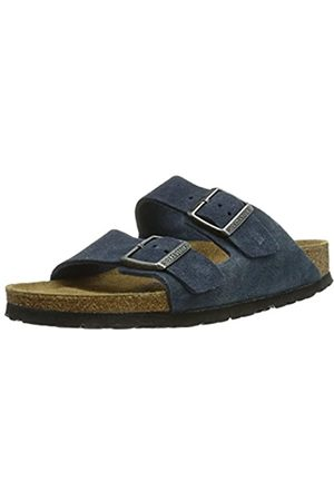 Birkenstock Arizona Sfb, Men's Heels Open Toe Sandals, (Bleu Bleu)